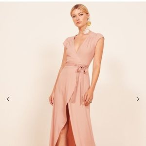 NWT REFORMATION Chamomile Dress in Blush